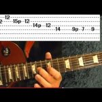 8 EASY Rock Riffs ( Guitar Lesson ) - Beginners