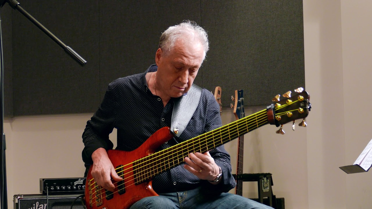 Aguilar Artist - OSCAR STAGNARO - Bass Player