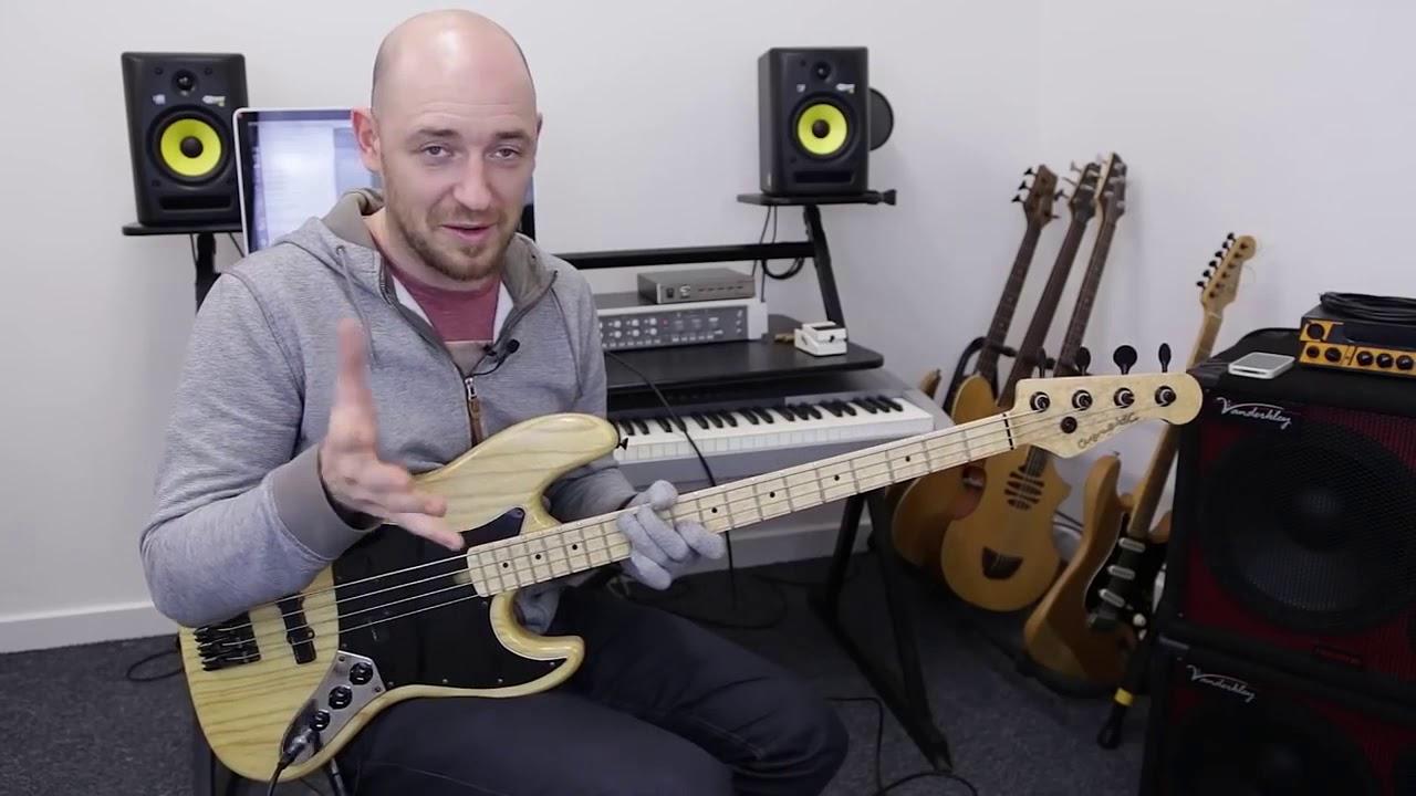 Аккорды на басу. Лучшее аккордовое построение для бас гитары.