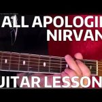 All Apologies NIRVANA Guitar Lesson — EASY