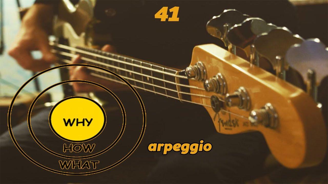 Арпеджио (лучшие упражнения)