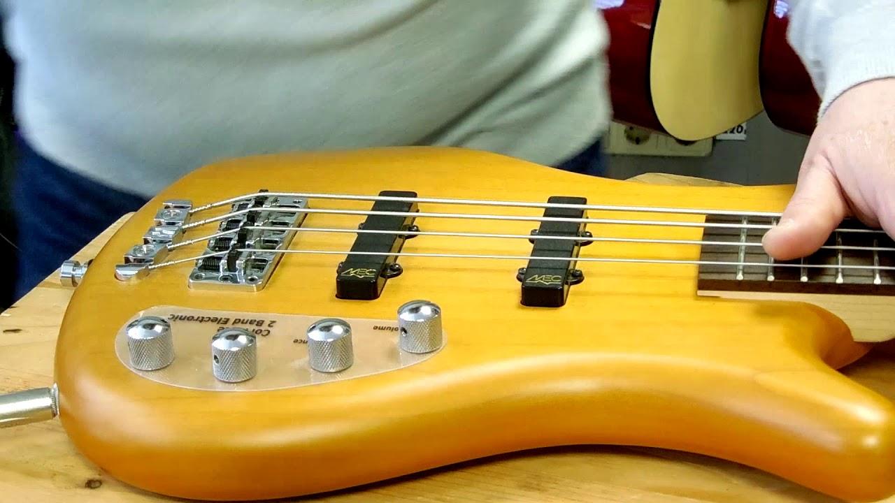 Бас гитара Высота звукоснимателей. Часть 3