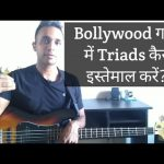 Bass Guitar Lessons For Beginners — Triads in a Bollywood Song(Hindi)