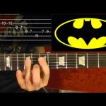 BATMAN ( TV Show Theme ) Guitar Lesson — Beginners