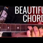 Beautiful Chords - In G Tuning - Guitar Lesson