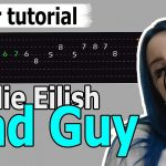 Billie Eilish — Bad Guy Easy Guitar Tutorial, Chords, How to Play, Guitar Lesson