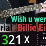 Billie Eilish - Wish you were gay Easy Guitar Tutorial