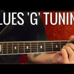 Blues 'G' Tuning — Guitar Lesson ( Blues Scale and Chrords )