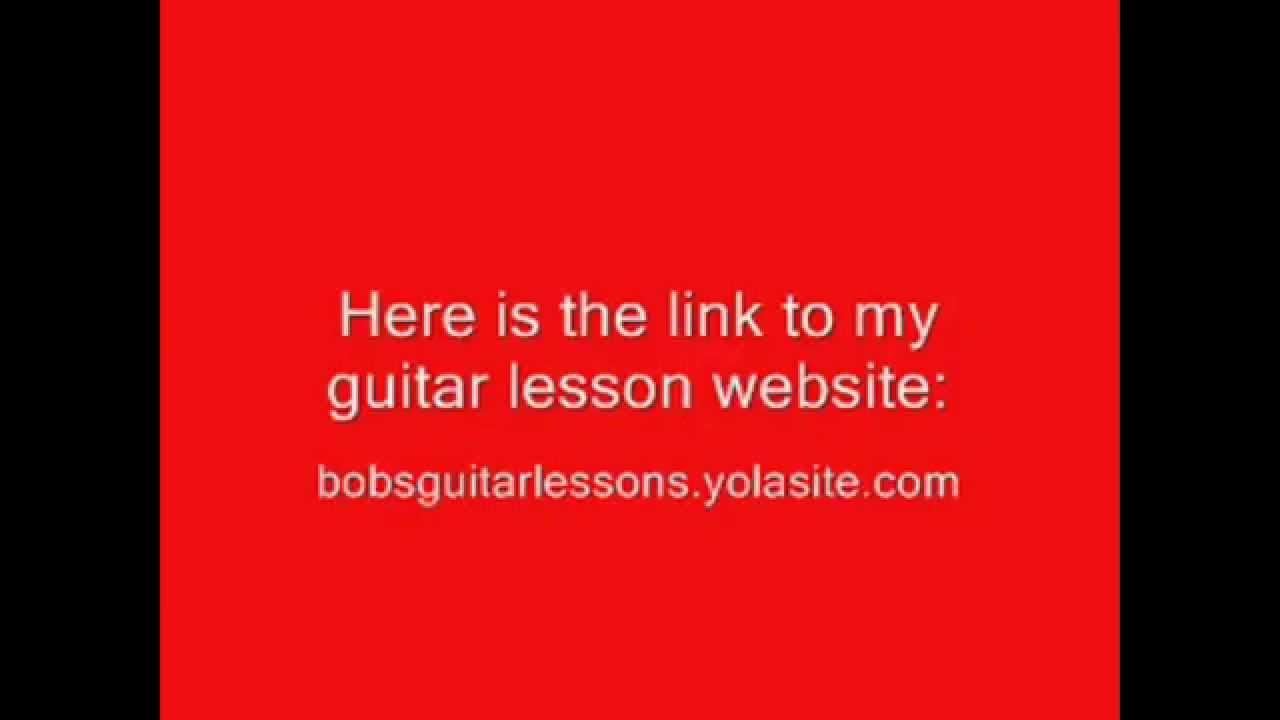 BOBBYCRISPY'S NEW GUITAR LESSON WEBSITE