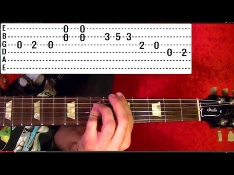 CALIFORNIA GIRLS - The Beach Boys - Guitar Lesson