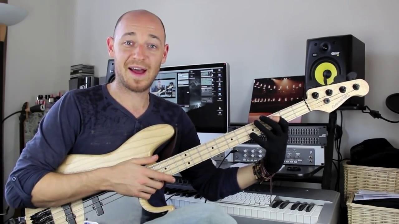 Что такое мертвые ноты и как их играть (бас-гитара урок)