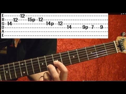 Comfortably Numb Solo by PINK FLOYD - Guitar Lesson - EASY