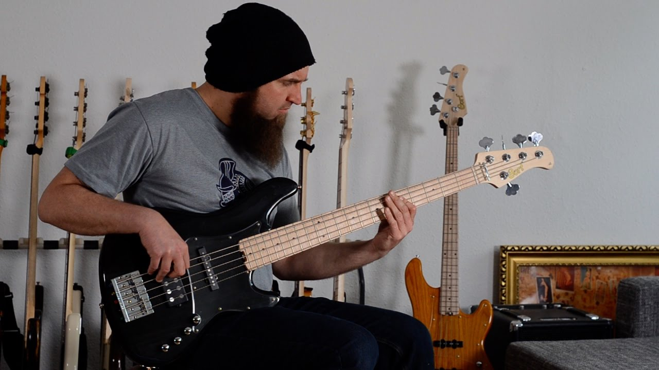 Cort GB-75 JH Bass Demo