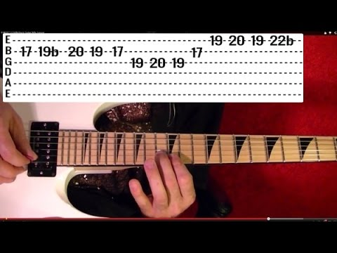 Cum On Feel the Noise Solo - QUIET RIOT - Guitar Lesson