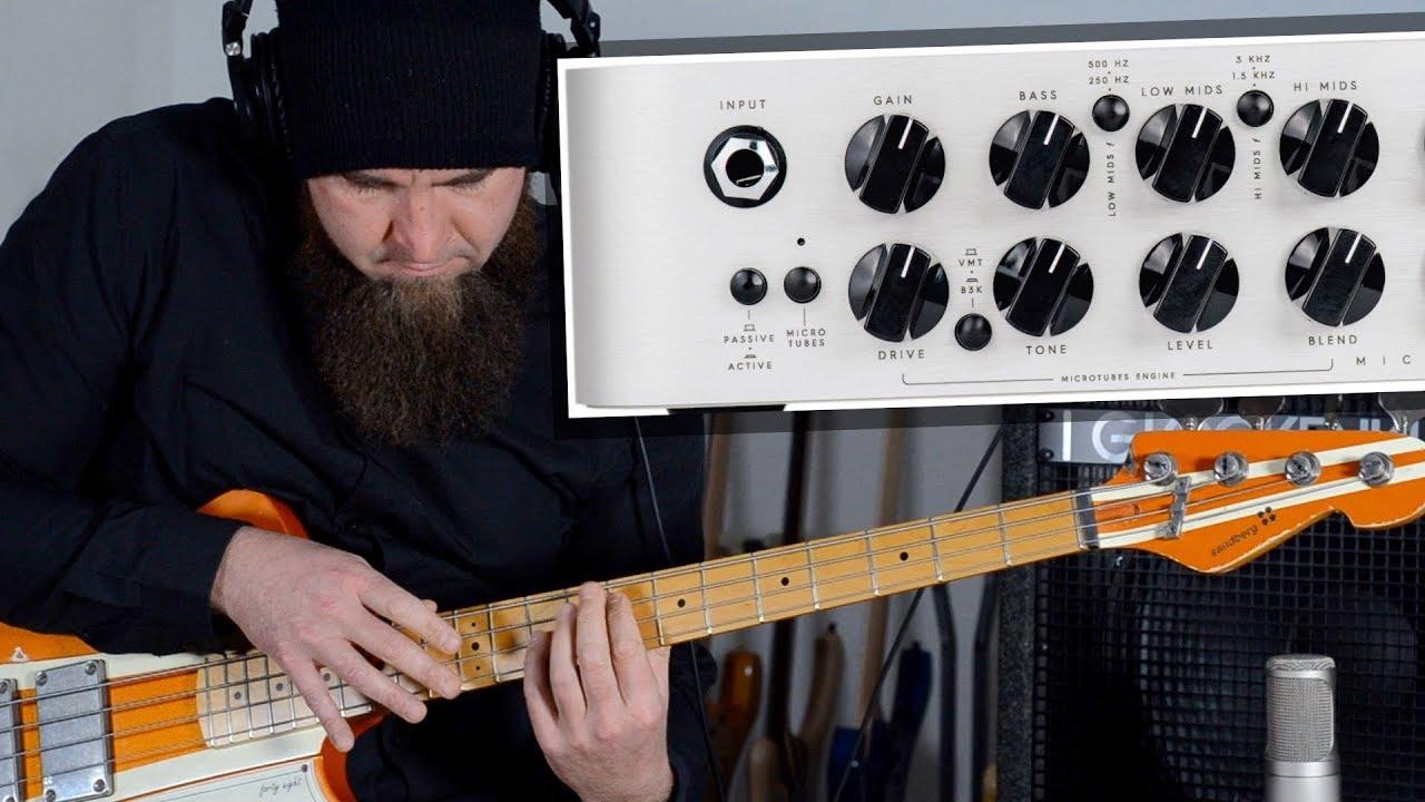 DARKGLASS MICROTUBES 500 - Bass Amp Review