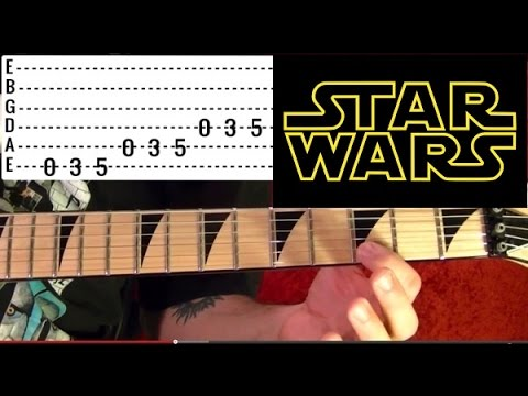 Darth Vader's Theme ( Imperial March ) - Guitar Lesson