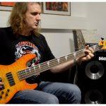 DAVID ELLEFSON — METAL BASS RIFF