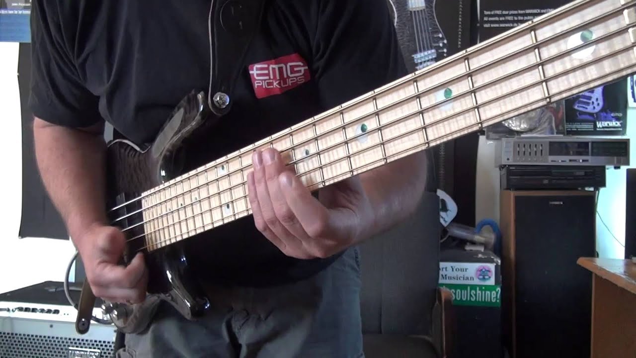 DOUBLE POPPING SLAP BASS LESSON WITH ANDY IRVINE