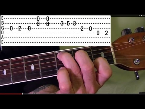 DUST IN THE WIND Kansas - Guitar Lesson
