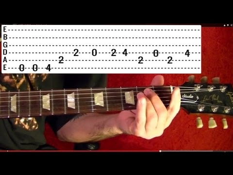 Embryo - BLACK SABBATH - Guitar Lesson