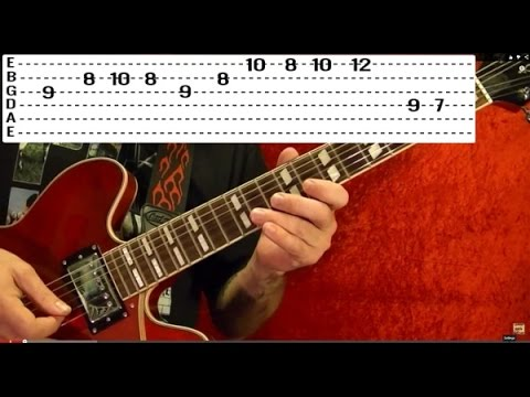 FORTUNATE SON CCR Guitar Lesson - Beginner