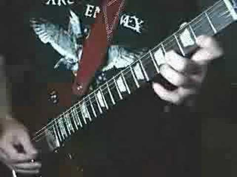 Frantic Metal Guitar Solo 'Frantic Freeze'