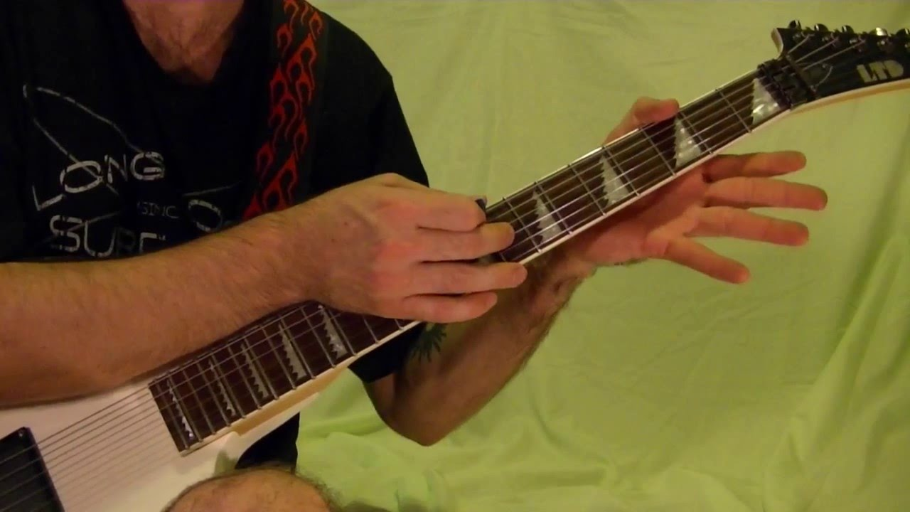FRETBOARD FINGERTAPPING — Guitar Lesson