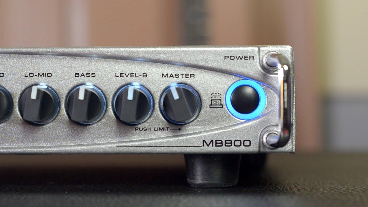 GALLIEN KRUEGER MB800 REVIEW BassTheWorld.com