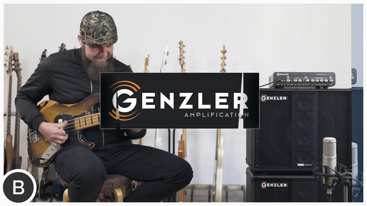 Genzler Magellan 800 Head Bass Array 12-3 Bass Cabs