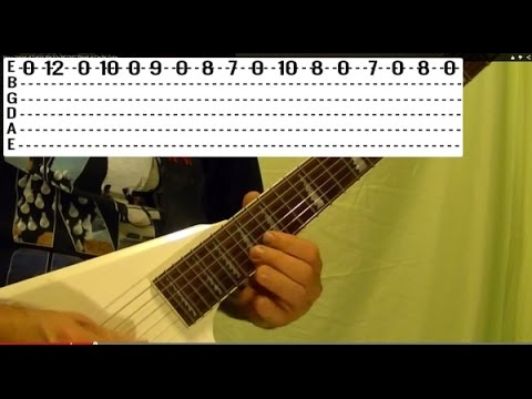 GOOD BYE TO ROMANCE - Solo by RANDY RHOADS - Guitar Lesson