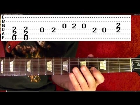Guitar Lesson - CRAZY TRAIN - Randy Rhoads - ( Video 1 of 3 )