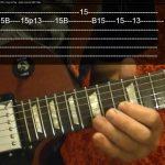 Guitar Lesson - CRAZY TRAIN - Randy Rhoads - ( Video 3 of 3 )