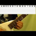Guitar Lesson - HEAVY METAL - SUPER FAST RUNS