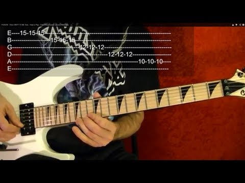 Guitar Lesson - SWEEP PICKING -( SPEED Video 3 )