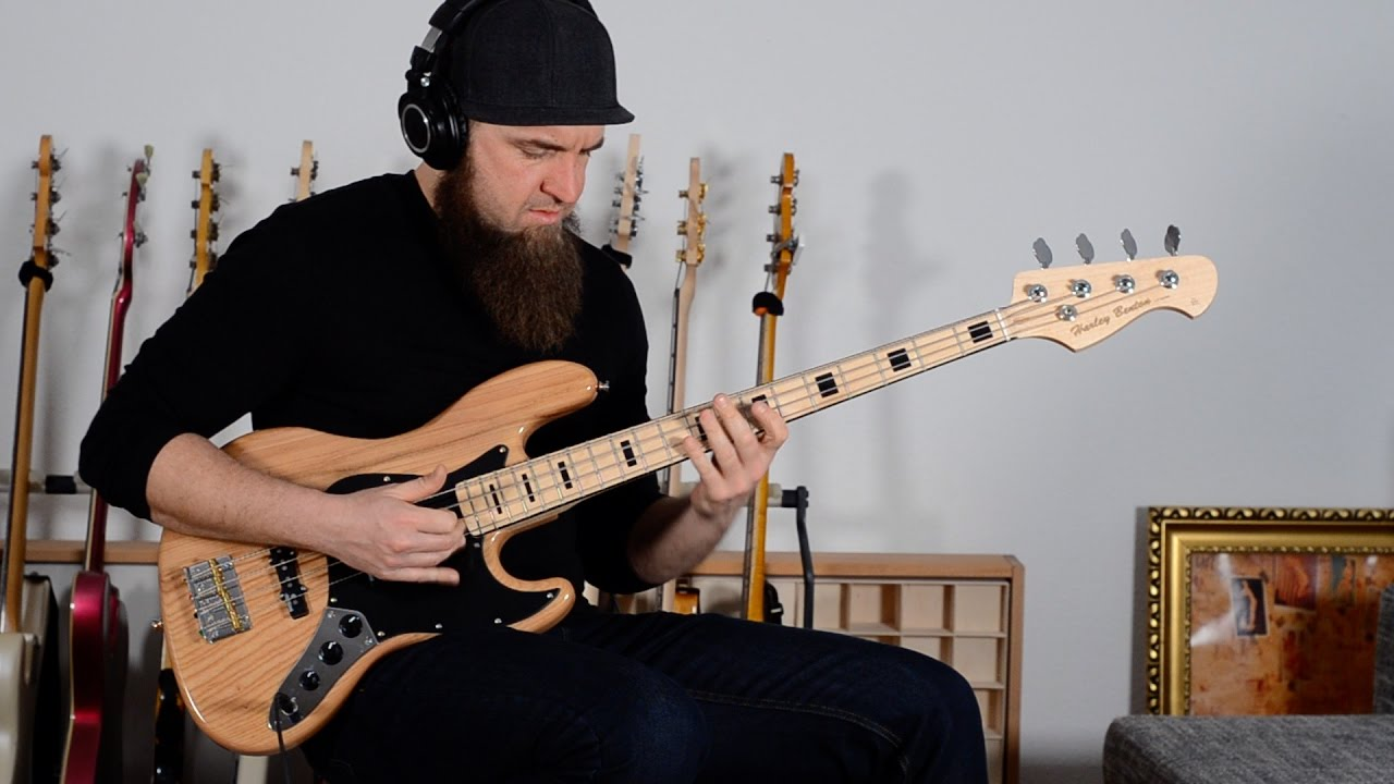 Harley Benton JB-75 NA Vintage Series Bass