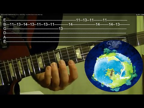 Heart of the Sunrise Intro - YES - Guitar Lesson