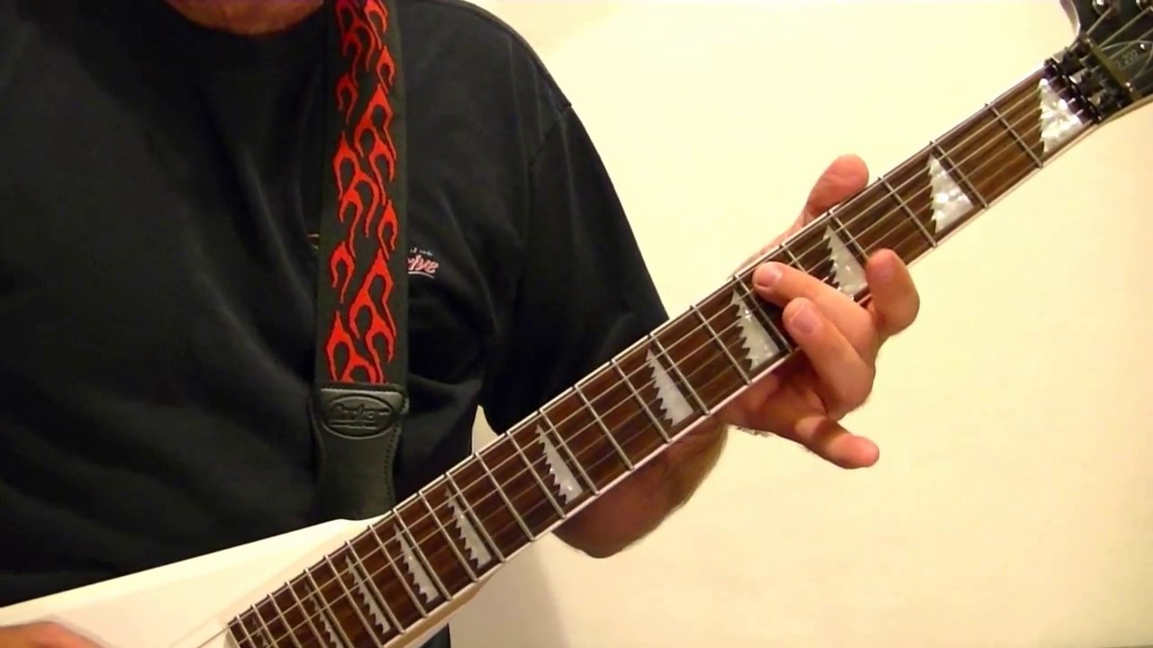 HEAVY METAL GUITAR LESSON - Songwriting Tips and Ideas