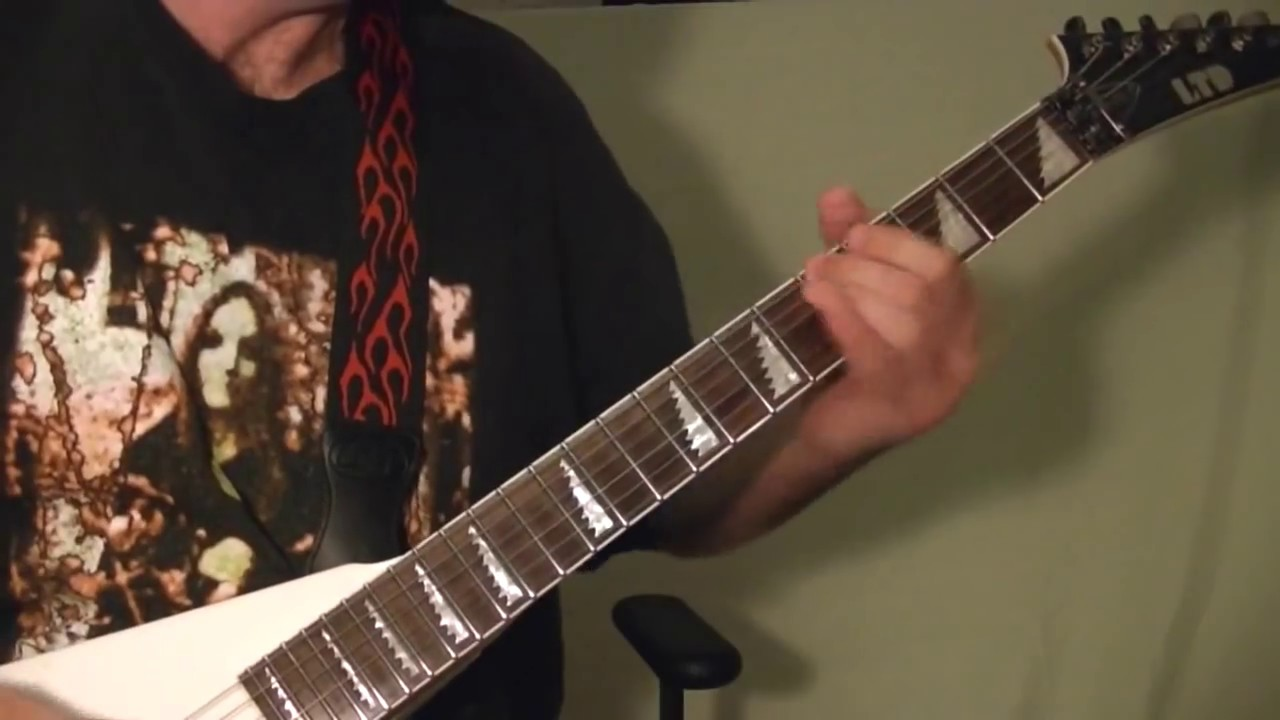 HEAVY METAL GUITAR LESSON - Shredding ( Using the Diminished Scale ) EASY