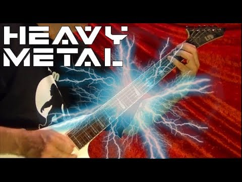 HEAVY METAL GUITAR SHREDDING ( With Lesson Links ) Bobby Crispy