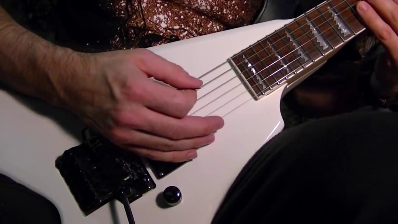 HEAVY METAL Muting Strings — Guitar Lesson — Beginners