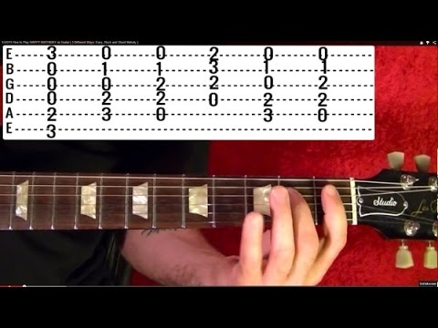 Here There and Everywhere - THE BEATLES - Guitar Lesson