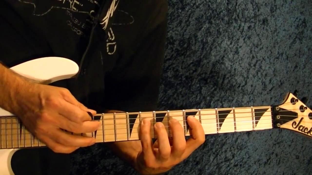 Hot For Teacher Intro - VAN HALEN - Guitar Lesson