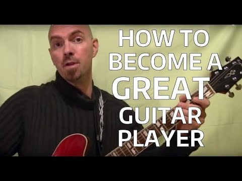 How to Become a Great Guitar Player Guitar College Graduate BobbyCrispy