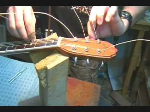 How to Change Strings on a Guitar ( 2 of 2 ) by BobbyCrispy
