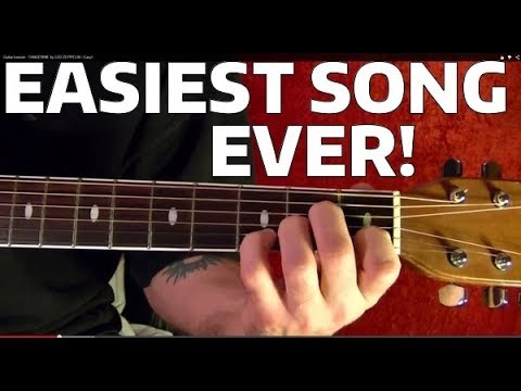 How to Play the Easiest Guitar Song Ever