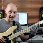 Играем шагающий бас (walking bass) — часть 2 (урок бас гитара)