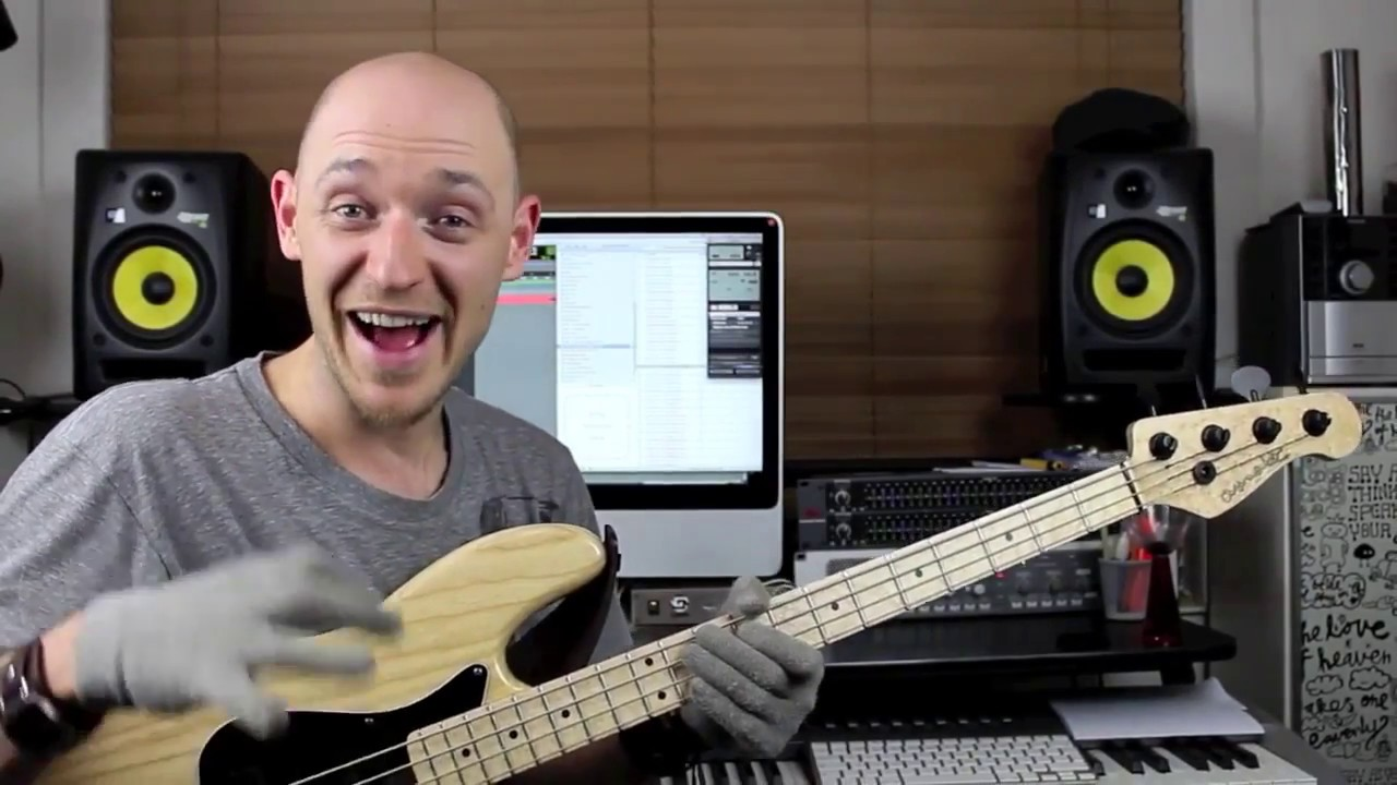 Играем шагающий бас (walking bass) - часть 1 (урок бас гитара)