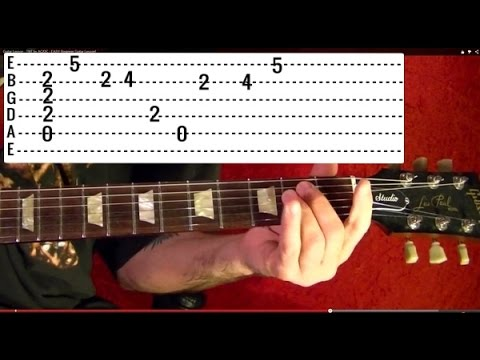 Into the Void - BLACK SABBATH ( 1 of 2 ) Guitar Lesson