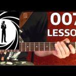 JAMES BOND Theme ( 007 ) Guitar Lesson
