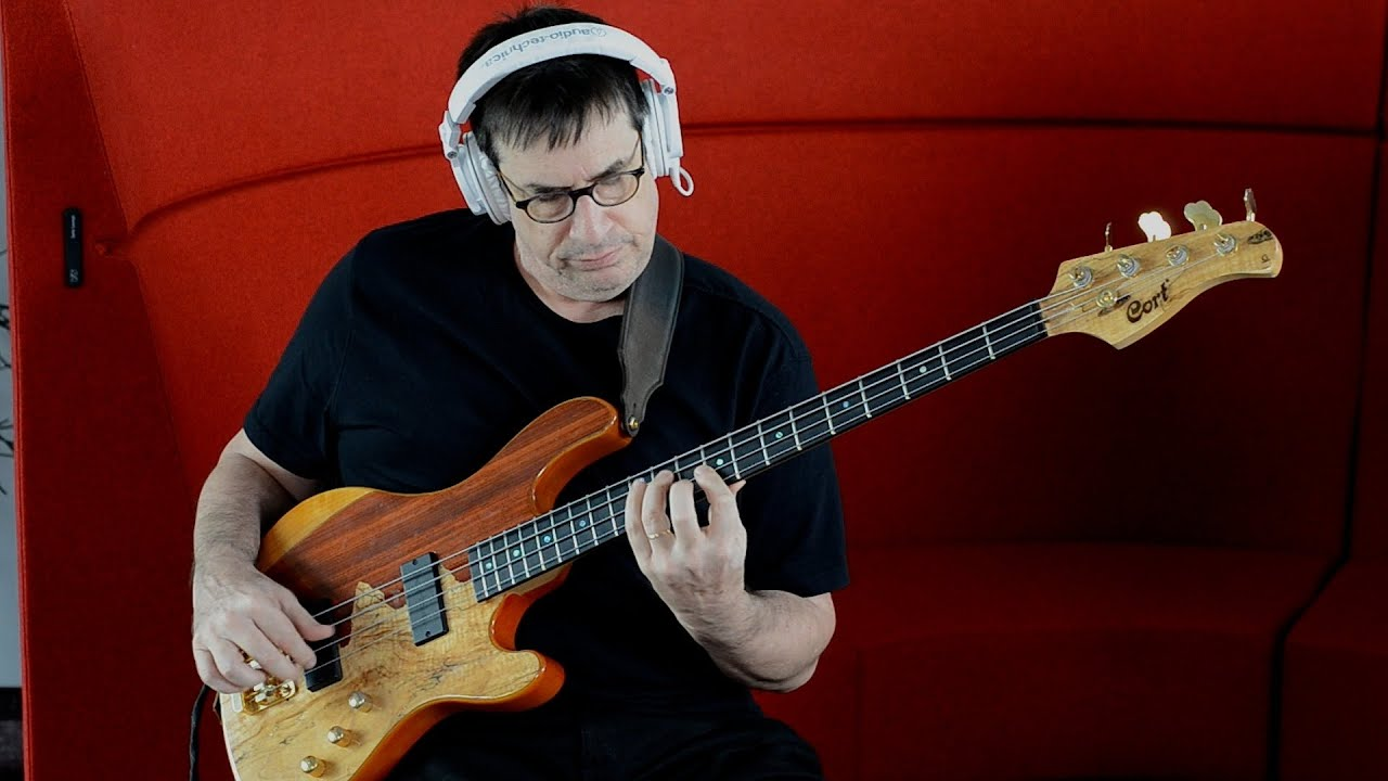 JEFF BERLIN - CORT RITHIMIC BASS & LESSON